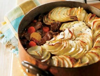 Recette b uf brais avec ses pommes de terre au cumin - Pomme de terre a la braise ...